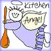 Comic Book Goddess: cooking - kitchen angel