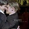 prom, brian/justin, happy