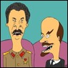 Stalin-Lenin Beavis and Butthead