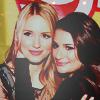 [Glee] Achele face grabbing