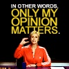 Only Sue's Opinion Matters