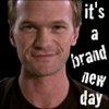 brand new day w/ evil smirk