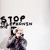 gaga : stop telephonin me