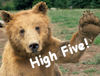 tres_mechante: fic comment - high-five