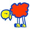 Смешная овца