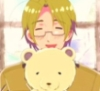 self-proclaimed cookie monster: Canada from Hetalia