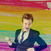 glee: colorful!Kurt