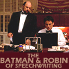 batman and robin of speechwriting