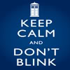 Dr. Who ~  Keep Calm Don't Blink