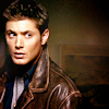 the only water in the forest is the river: [spn] dean | leather jacket