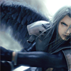 one winged angel, ff, Sephiroth, advent children