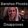 disapproval, banshee