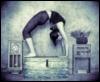 B/W Yoga