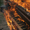 piano on fire - apiphile