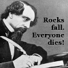 Comrade Cat: writing-rocks fall everyone dies