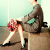 vintage dress legs