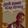 never give up!  ৵  never surrender!: (leverage) geeks shall inherit hardison
