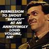 Permission to shout BRAVO!