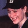dana smiling/ball cap