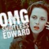 omg edward shirtless