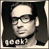 Denorios: david duchovny geek