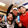 alex. you don't know how lovely you are.: !hawks/ celebrate with the bud;