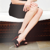 senseless things: [Elizabeth] legs & louboutins // potterm