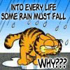 Garfield Rain by sallymn