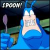 Caroline: Spoon!