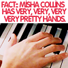 Mish: Misha -- Has Pretty Hands