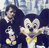 MJ & Mickey Mouse=BFF
