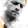 b_edshaped: castiel - blanc/orange