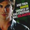Rogue: [TVD] Damon delights