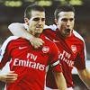 evenstargirl: Arsenal: Fabregas & Van Persie