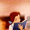 DISNEY: Belle - reading!