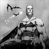 Grayscale Batman