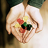 Stock: hand | sweets