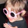 magenta girl: Max as Elton John