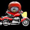 moto linux tux