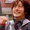 Rebecca: Junpei-gutspose!