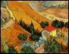 Винсент Ван Гог. Пейзаж с домом и пахаре
