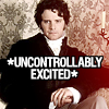 prone to mischief: Mr Darcy is uncontrollably excited