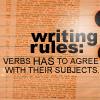 subject verb
