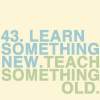 TXT | Learn sth new, Misc | Learn sth new