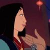 Mulan Fa: smile; knowing
