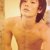 Shirtless Haruma