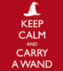 harry potter keep calm carry wand
