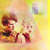 Dr. Who: 11/Rose Doc Looks Over Shoulder