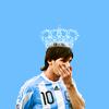football: all hail messi <3