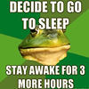 macro - frog up 3 more hrs